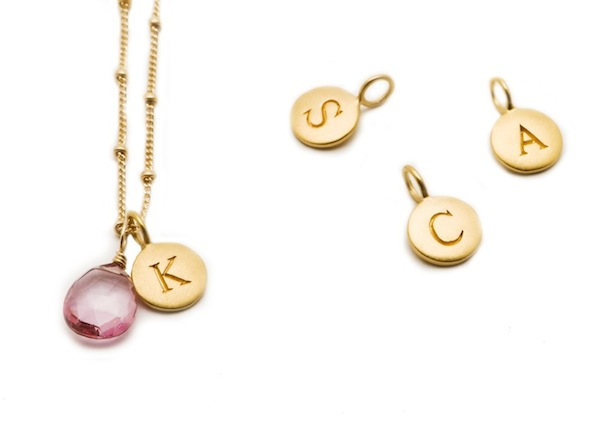 pink ribbon necklace group