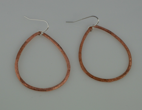 rose gold vermeil earrings