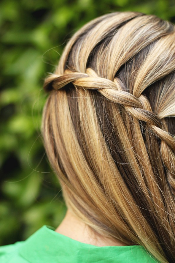 Waterfall braid 5